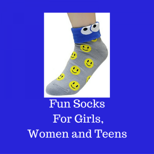 Fun Socks For Girls, Women and Teens