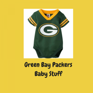 Green Bay Packers Baby Stuff