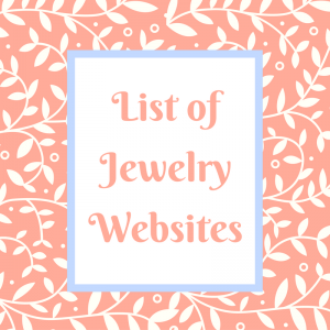 List of Jewelry Websites