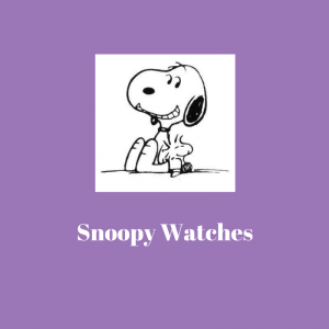 List of Snoopy Watches