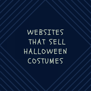 list of websites that sell Halloween costumes