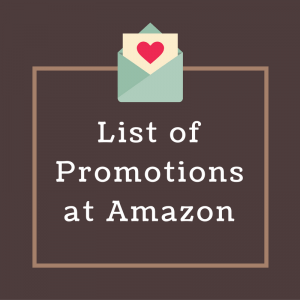 List of Promotions at Amazon