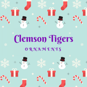 Clemson Tigers Ornaments