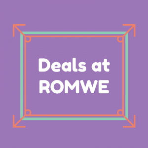 List of Deals at ROMWE