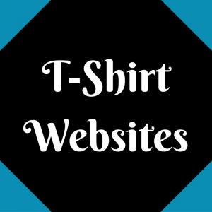 List of T-Shirt Websites