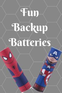 List of Fun Backup Batteries