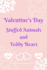 List of Valentine Stuffed Animals and Teddy Bears