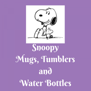 List of Snoopy Mugs, Tumblers and Water Bottles
