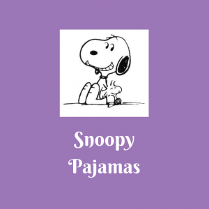 List of Snoopy Pajamas