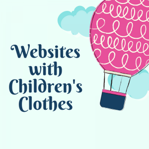 List of Websites with Children's Clothes