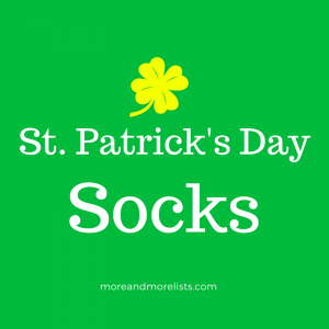 List of St. Patrick's Day Socks