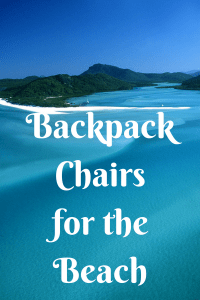 List of Backpack Chairs for the Beach