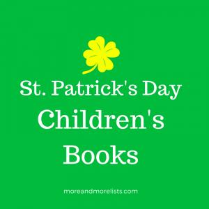 List of St. Patrick's Day Children's Books