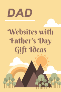 List of Websites with Father's Day Gift Ideas