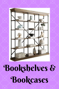 List of Bookshelves and Bookcases