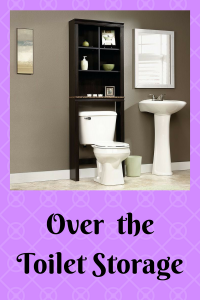 List of Over the Toilet Storage