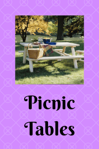 List of Picnic Tables