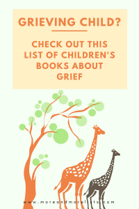 List of Children's Books about Grief