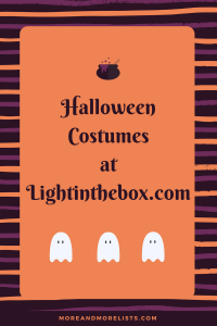 List of Halloween Costumes at Lightinthebox.com