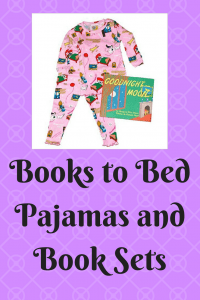 List of Books to Bed Pajamas and Book Sets
