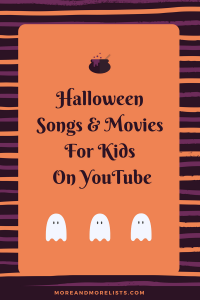 List of Halloween Songs and Movies for Kids on YouTube