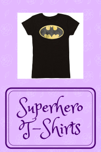 List of Superhero T-Shirts