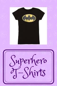 List of Superhero T-Shirts