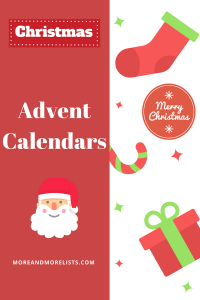 List of Advent Calendars