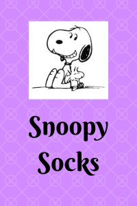 List of Snoopy Socks