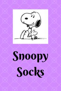 List of Snoopy Socks
