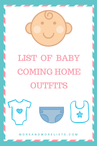 List of Baby Coming Home Outfits