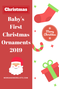 List of Baby's First Christmas Ornaments