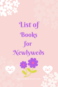 List of Books for Newlyweds