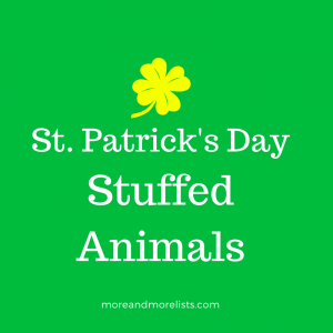 List of St. Patrick's Day Stuffed Animals