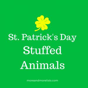 List of St. Patrick's Day Stuffed Animals